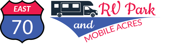 70 East RV Park Logo